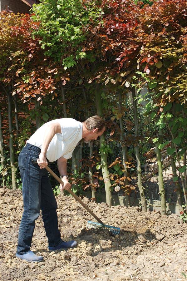 Het tuinieren. stock foto