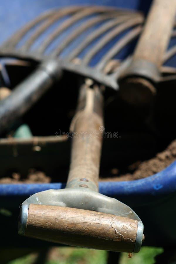 Het tuinieren materiaal 2 stock afbeeldingen