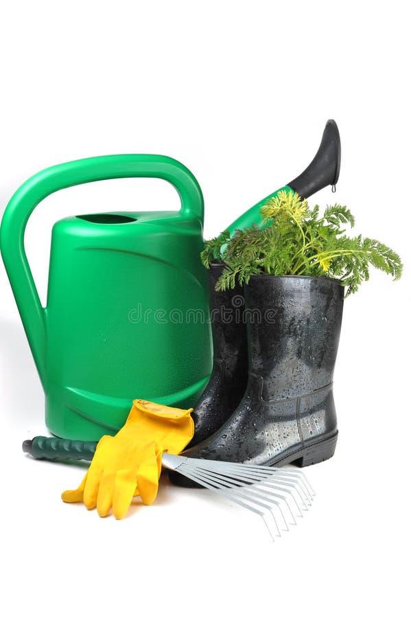 Het tuinieren hulpmiddelen stock foto
