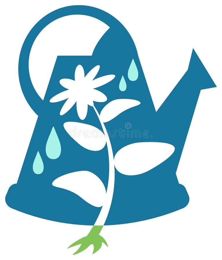 Het tuinieren ontwerp royalty-vrije illustratie