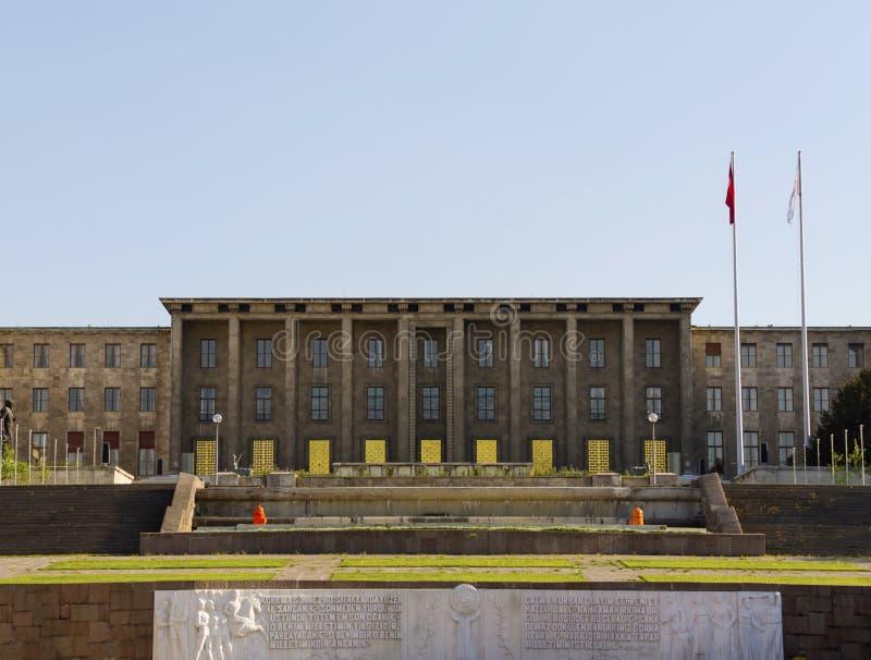 Het Turkse Parlement stock foto