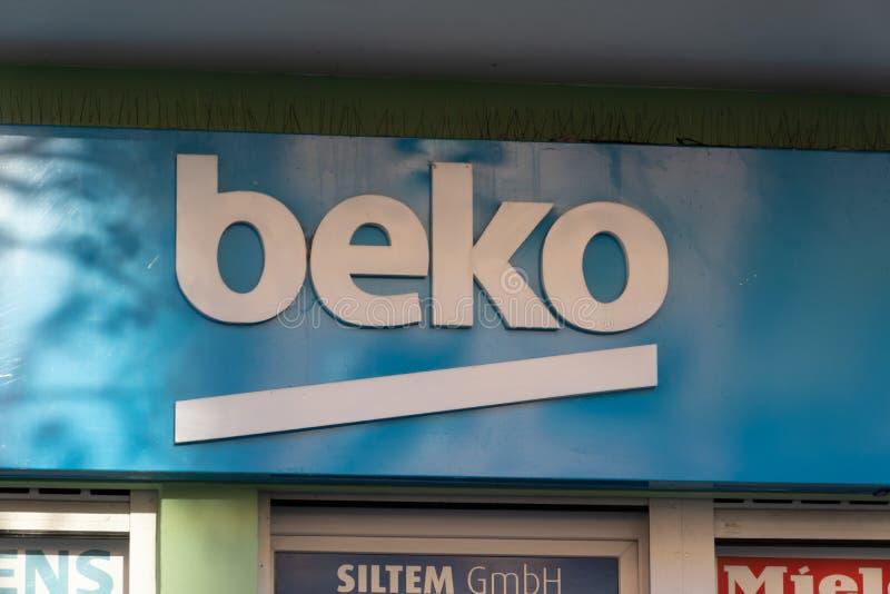 Het Turkse teken van bedrijfbeko royalty-vrije stock foto