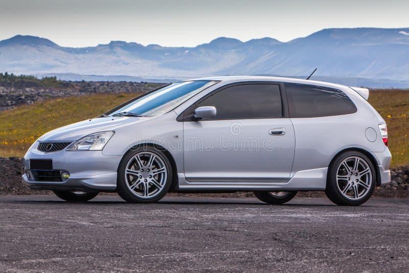 Het Type R van Honda Civic stock afbeelding