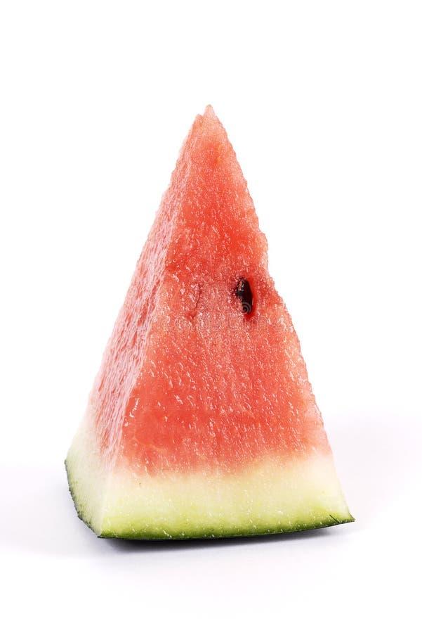 Het uiteinde van de watermeloen royalty-vrije stock foto's