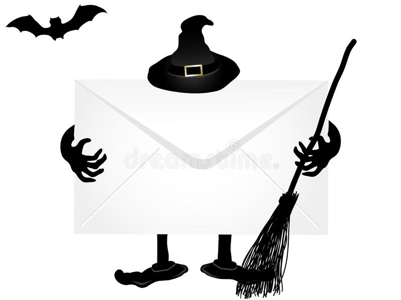 Het uithangbord van Halloween stock fotografie