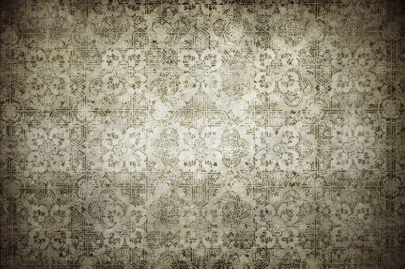 Het uitstekende behang van Grunge royalty-vrije illustratie
