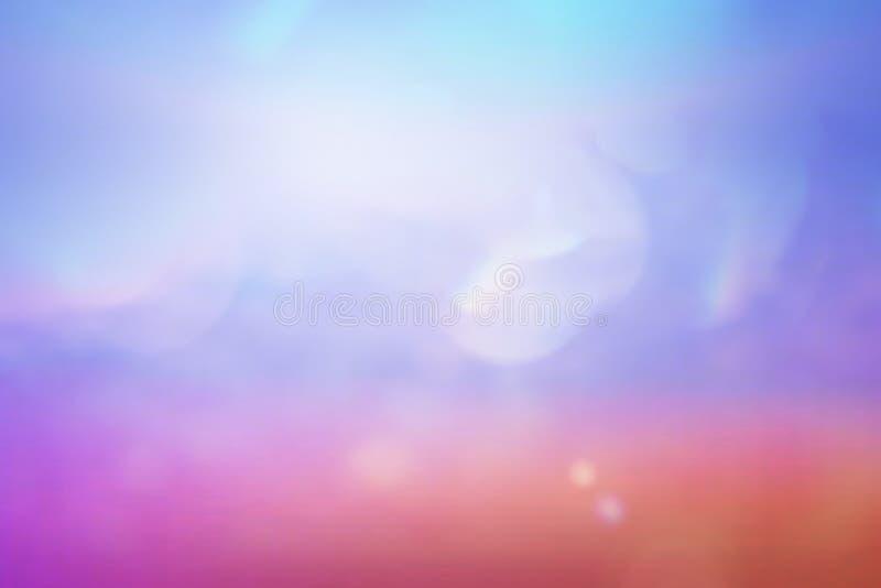 Het uitstekende Kleurrijke Licht Achtergrond van Bokeh van uitstekende lens voor het ontwerp van de fotobekleding royalty-vrije illustratie