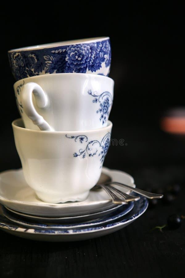 Het uitstekende kobalt China royalty-vrije stock foto's