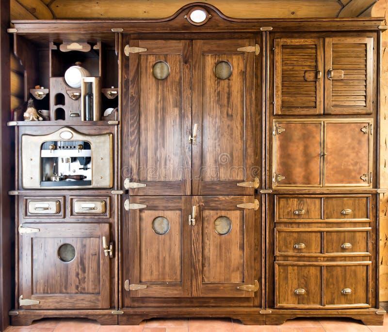 Het uitstekende meubilair van de luxe royalty-vrije stock foto