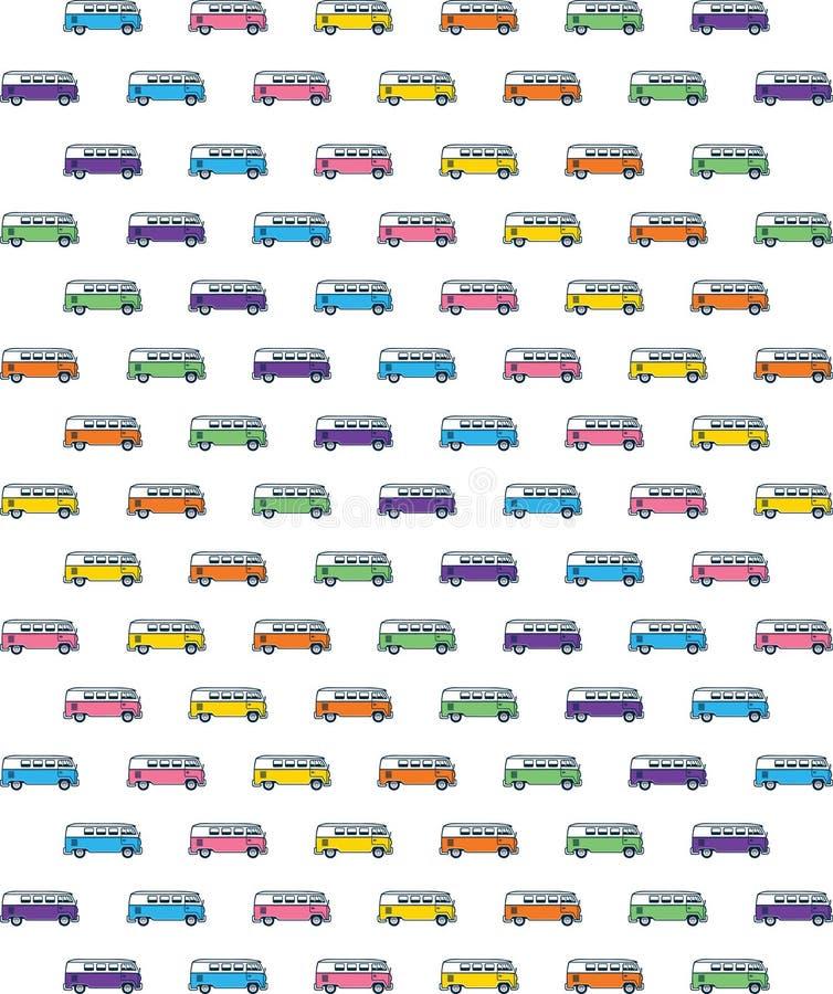 Het Uitstekende Patroon van VW royalty-vrije illustratie