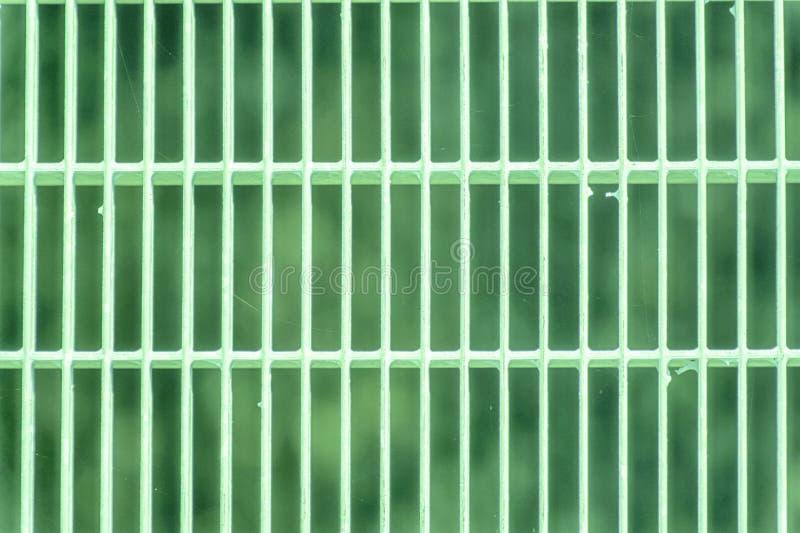 Het ultra groene rooster van de Staalgrond Roestvrij staaltextuur, achtergrond voor website of mobiele apparaten stock fotografie