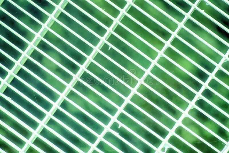 Het ultra groene rooster van de Staalgrond Roestvrij staaltextuur, achtergrond voor website of mobiele apparaten stock foto