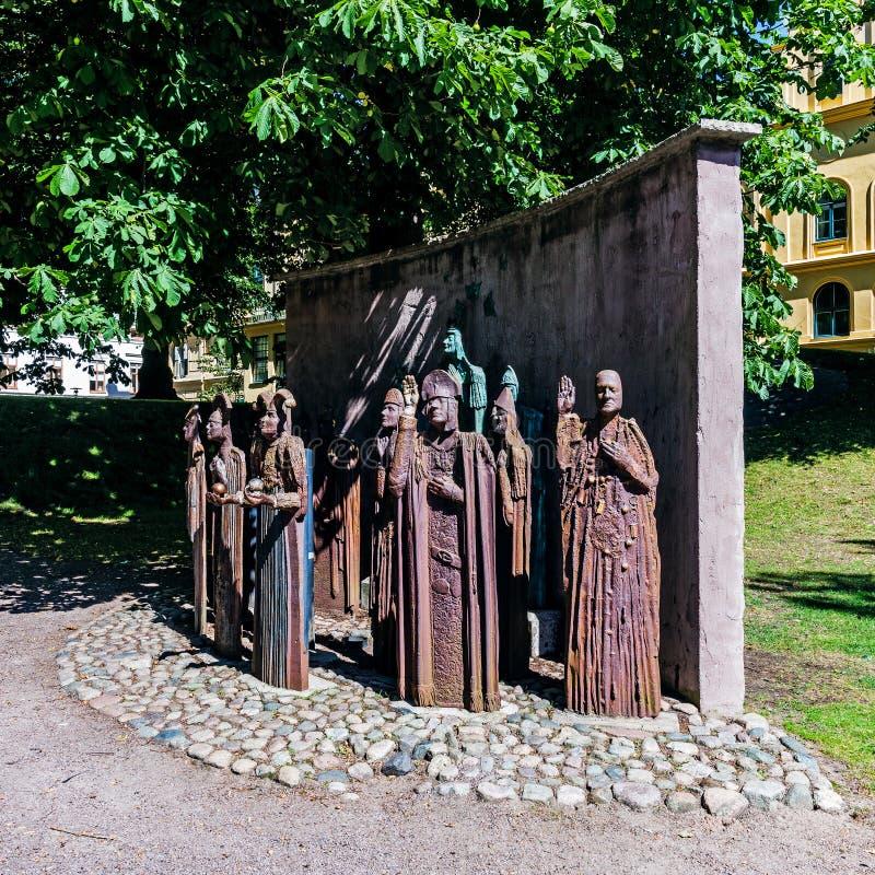 Het Unie Monument stock afbeeldingen
