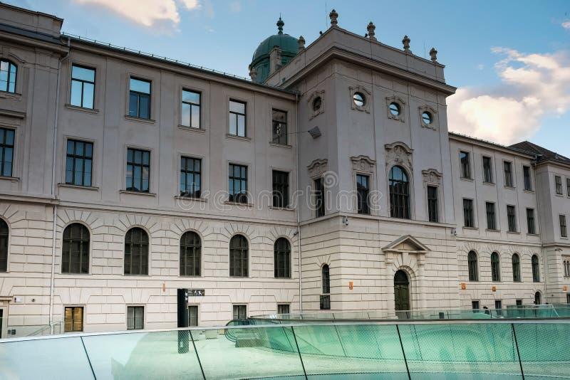 Het Universele Museum van Joanneum in Graz stock foto's