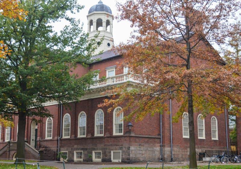 Het Universitaire gebouw van Harvard in Cambridge, Massachusetts, de V.S. stock foto