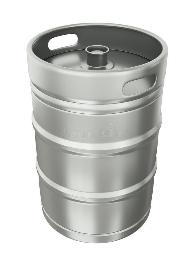Het vaatje van het bier royalty-vrije illustratie