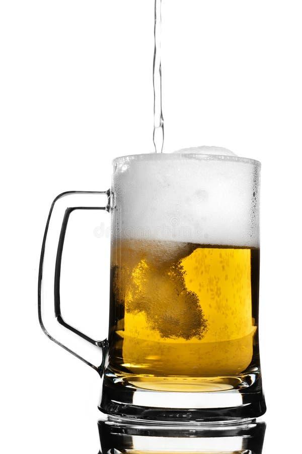 Het vaatje van het bier royalty-vrije stock afbeelding