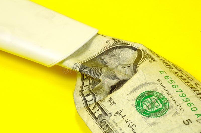 Het Vacuüm Van Het Geld Royalty-vrije Stock Foto's