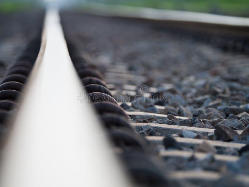 Het Vage Beeld van de Spoorweg royalty-vrije stock foto