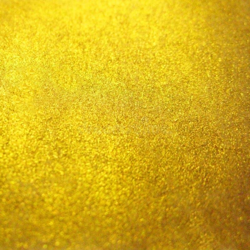 Het vage gouden gouden metaal schittert oppervlakte achtergrondtextuur royalty-vrije stock foto