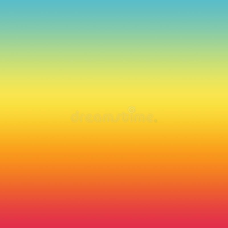 Het van de de achtergrond zomergradiënt Heldere Patroon Kleurrijke van Ombre vector illustratie