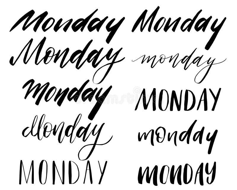 het van letters voorzien typografie vector illustratie