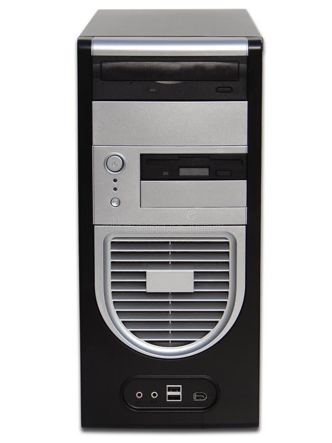 Het van PC bureaucomputer royalty-vrije stock afbeelding