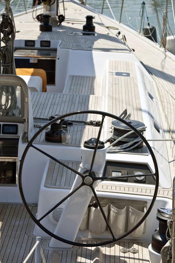 Het varen bootdetail royalty-vrije stock foto