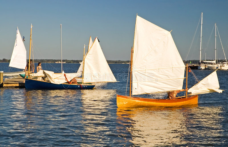 Het varen op de Chesapeake Baai royalty-vrije stock foto's