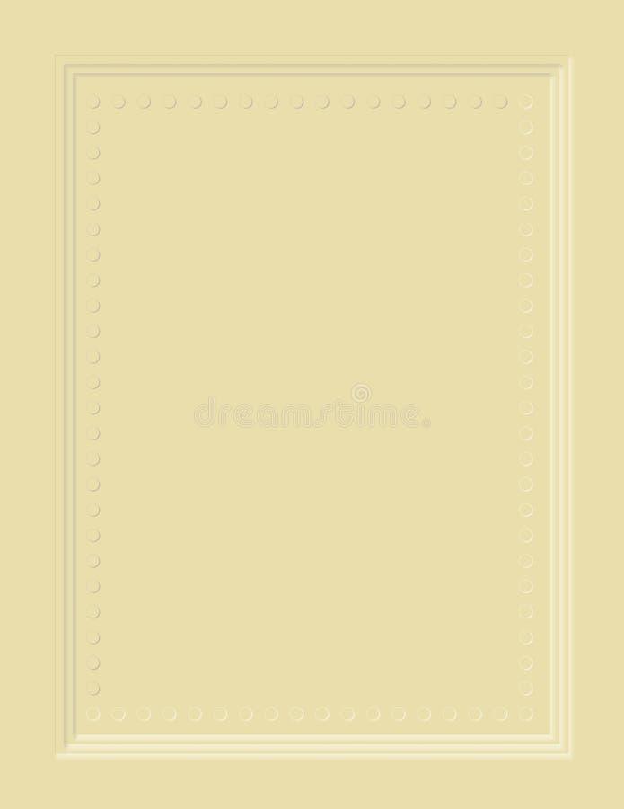 Het vector Frame van de Uitnodiging stock illustratie