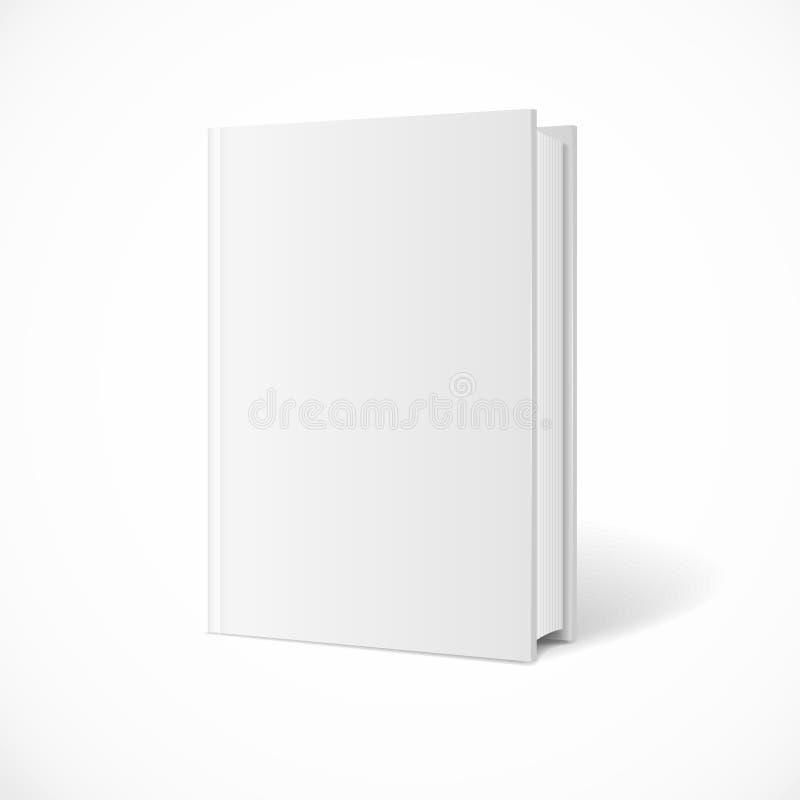 Het vector lege perspectief van de boekdekking vector illustratie
