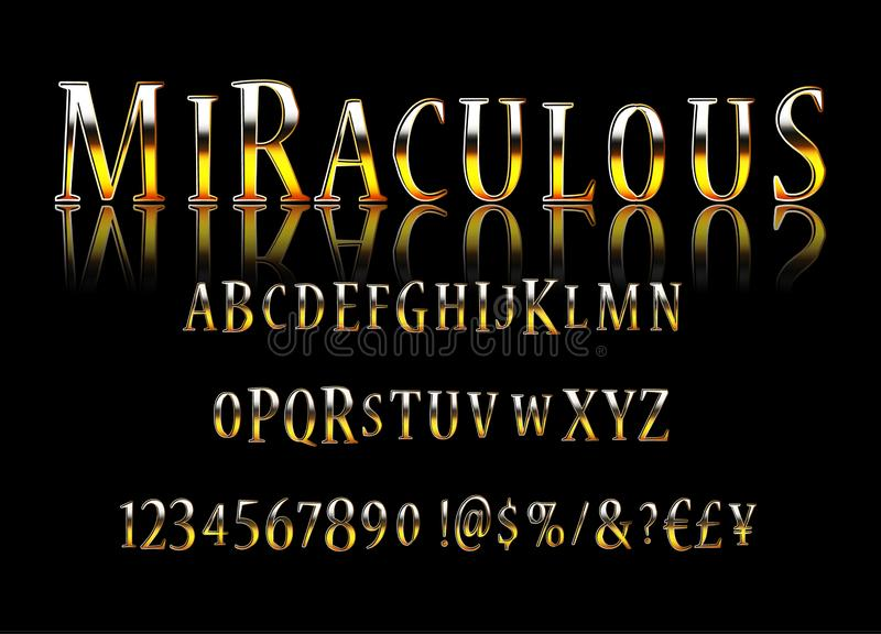 Het vector modieuze Magische Teken toont stock illustratie