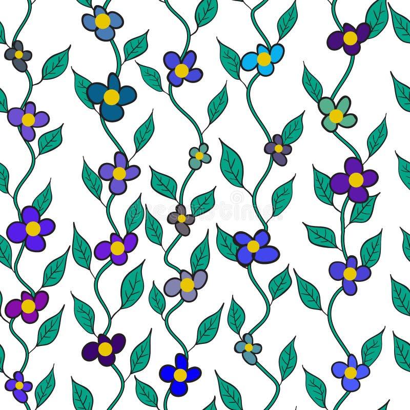 Download Het Vector Naadloze Patroon Van A Met Blad 3 Vector Illustratie - Illustratie bestaande uit installatie, element: 54085496