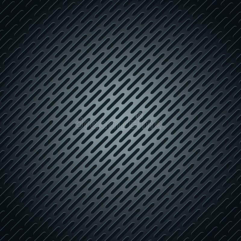 Het vectorbehang van het illustratie metaalroestvrije staal - abstracte zwarte geometrische de veelhoekenachtergrond van het meta stock illustratie