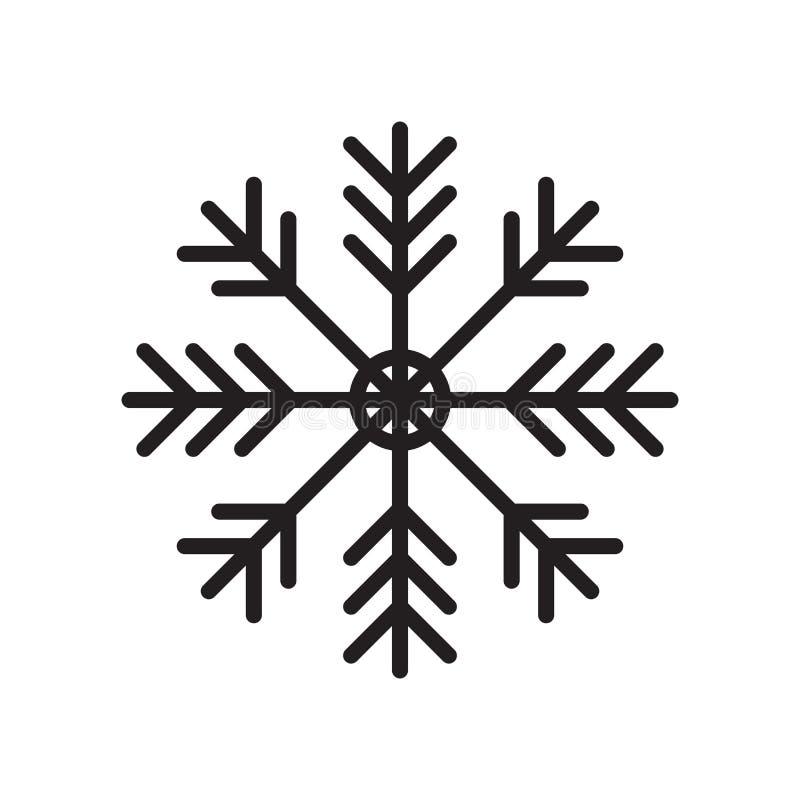 Het het vectordieteken en symbool van het airconditioningspictogram op witte achtergrond, het concept van het Airconditioningsemb vector illustratie