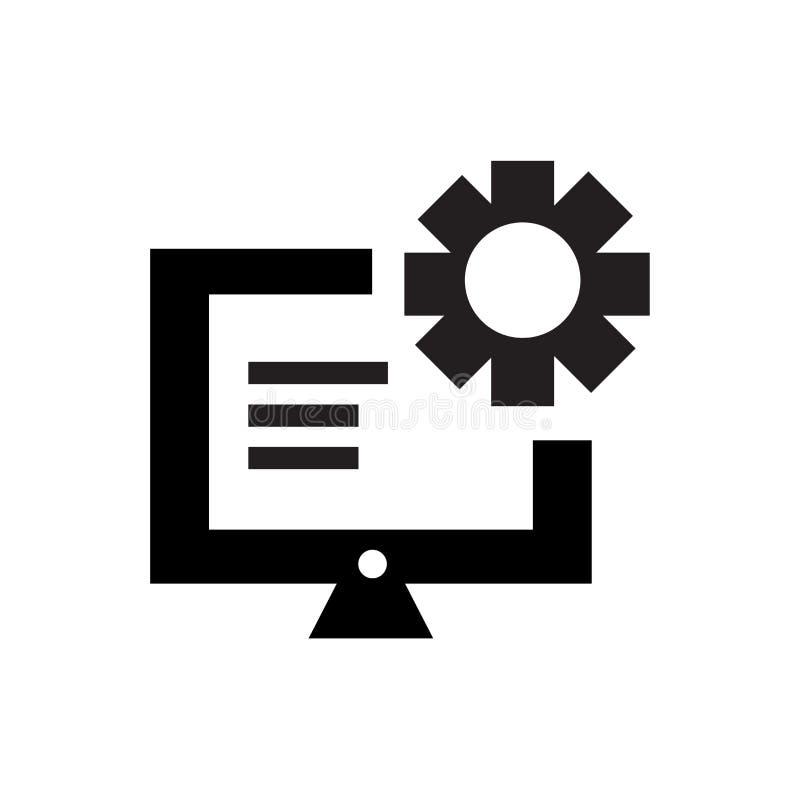 Het het vectordieteken en symbool van het controlebordpictogram op witte achtergrond, het concept van het Controlebordembleem wor vector illustratie