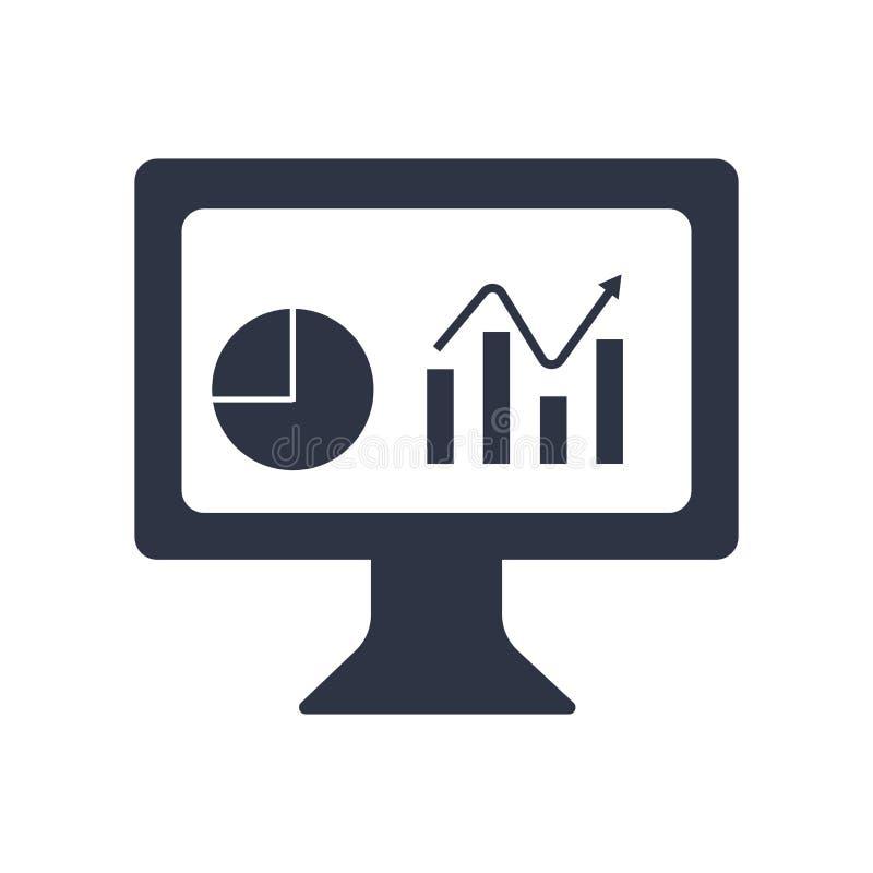Het het vectordieteken en symbool van het dashboardpictogram op witte achtergrond, het concept van het Dashboardembleem wordt geï stock illustratie