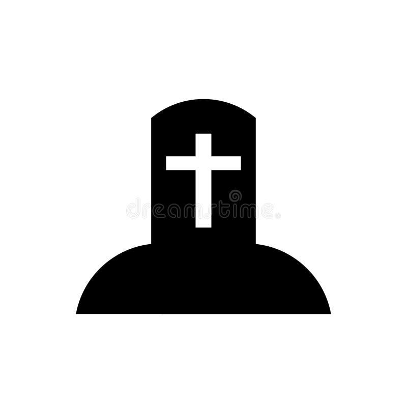 Het het vectordieteken en symbool van het grafpictogram op witte achtergrond, het concept van het Grafembleem wordt geïsoleerd stock illustratie