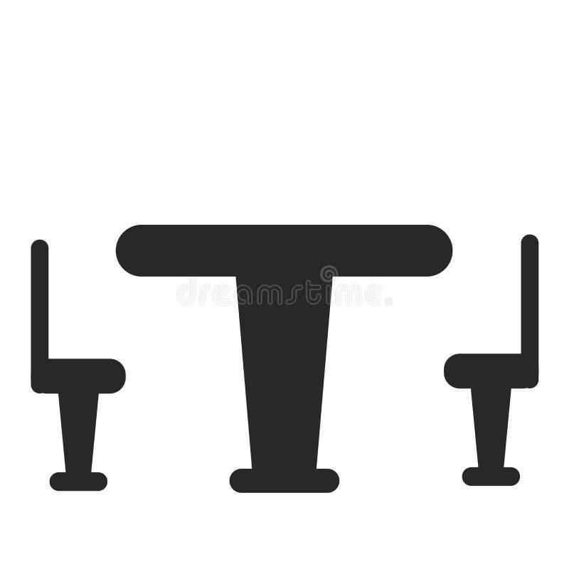 Het het vectordieteken en symbool van het lijstpictogram op witte achtergrond, het concept van het Lijstembleem wordt geïsoleerd stock illustratie