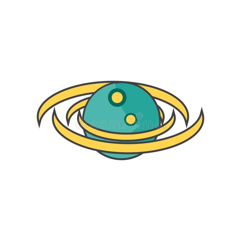 Het het vectordieteken en symbool van het melkwegpictogram op witte achtergrond, het concept van het Melkwegembleem wordt geïsole vector illustratie