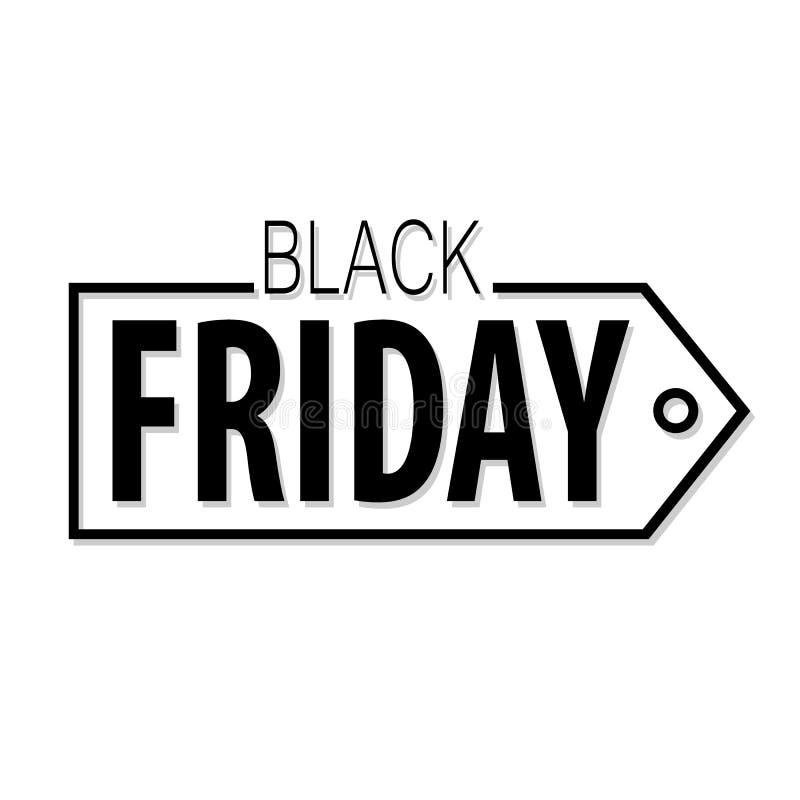Download Het Vectormalplaatje Van Black Friday Vector Illustratie - Illustratie bestaande uit affiche, pictogram: 114228221