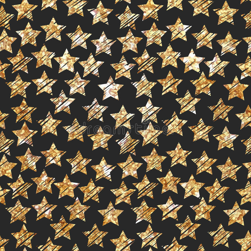 Het vectorontwerp van de illustraties Moderne gouden folie stock foto's