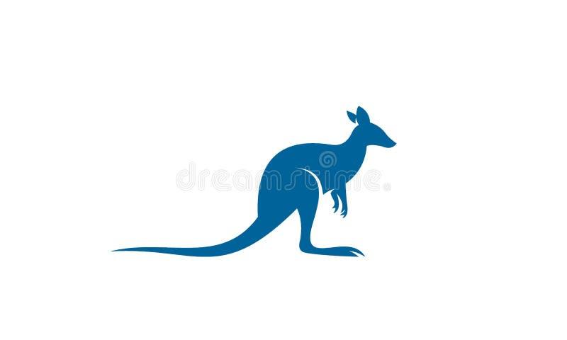 Het vectorontwerp van het kangoeroeembleem