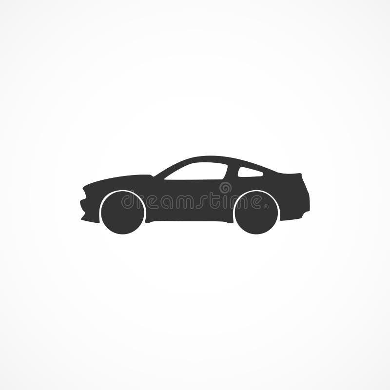 Het vectorpictogram van de beeldauto stock illustratie