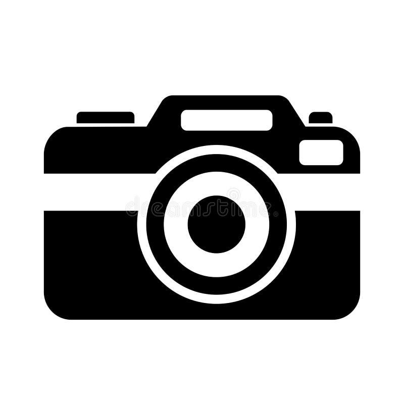 het vectorpictogram van de fotocamera vector illustratie