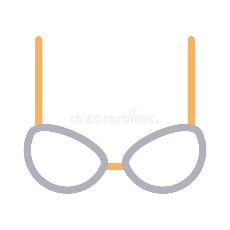 Het vectorpictogram van de lingerierassenbarrière royalty-vrije illustratie