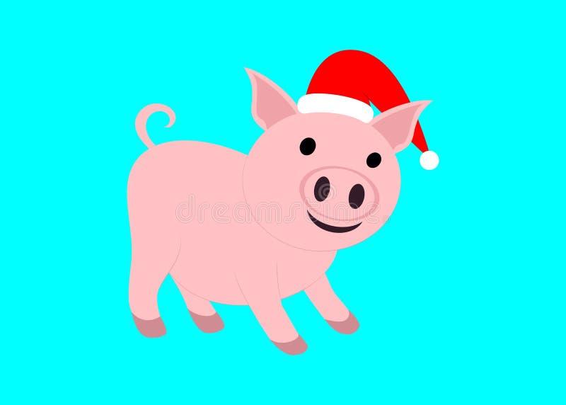 Het vectorwerk van een varken Het Jaar van het Varken royalty-vrije illustratie