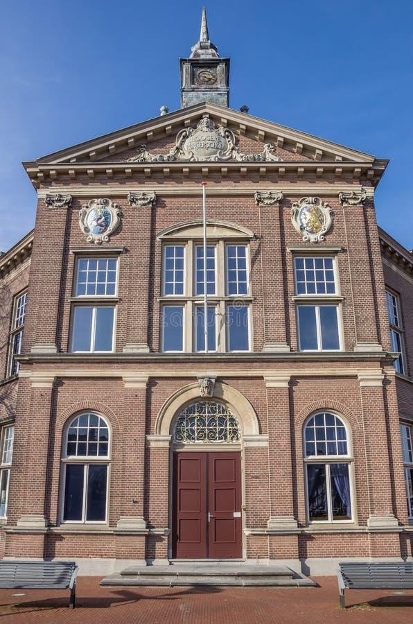 Het Veenkolomiaal-museum in Veendam stock foto