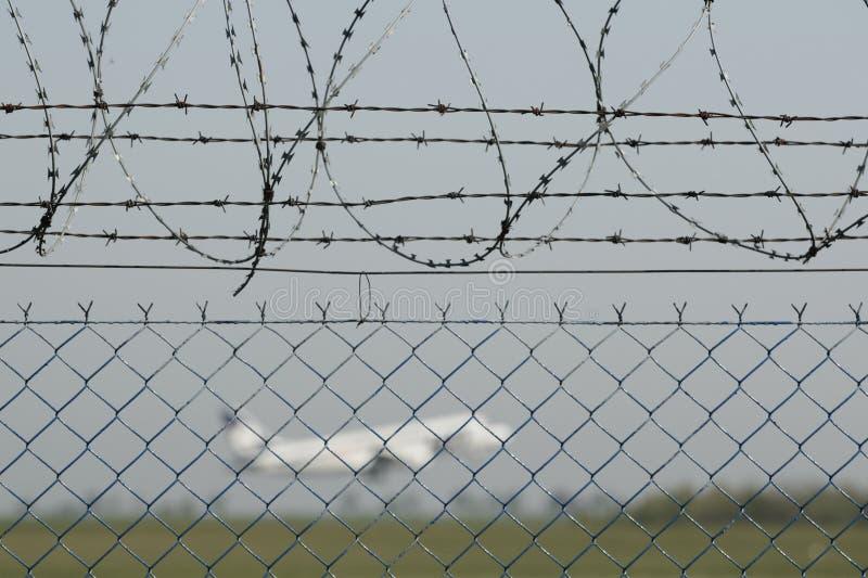 Het veiligheidssysteem van de luchthaven royalty-vrije stock afbeeldingen