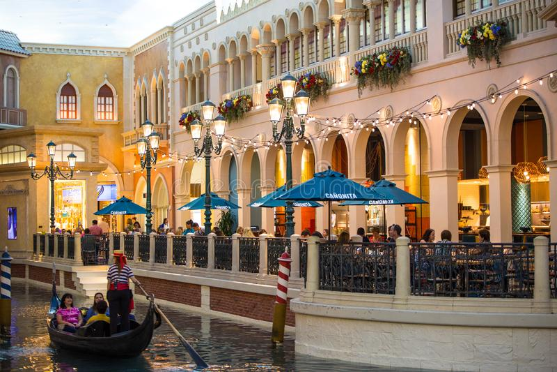 Het Venetiaanse de Toevluchthotel van Las Vegas royalty-vrije stock foto's